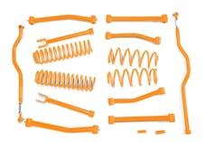 Steinjager Lift Kit Wrangler JK 2007-2018 4 Inch Fluorescent Orange