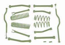 Steinjager Lift Kit Wrangler JK 2007-2018 4 Inch Locas Green