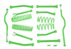 Steinjager Lift Kit Wrangler JK 2007-2018 4 Inch Neon Green