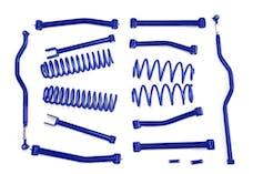 Steinjager Lift Kit Wrangler JK 2007-2018 4 Inch Southwest Blue