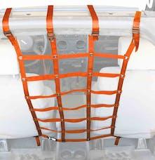 Steinjager Dog Partition Wrangler JK 2007-2018 Orange 4 Door