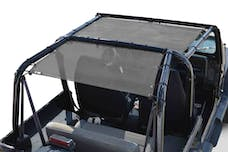 Steinjager Tops, Fabric Teddy Wrangler YJ 1987-1995 Solar Screen Gray Front Seats Only