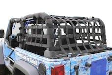 Steinjager Cargo Net Wrangler JK 2007-2018 2 Door Premium Black