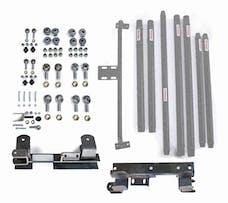 Steinjager Long Arm Travel Kit Wrangler TJ 1997-2006 DOM Tubing Automatic Transmission Gray Hammertone