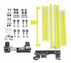 Steinjager Long Arm Travel Kit Wrangler TJ 1997-2006 DOM Tubing Automatic Transmission Lemon Peel