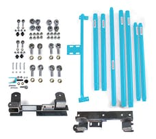 Steinjager Long Arm Travel Kit Wrangler TJ 1997-2006 DOM Tubing Automatic Transmission Playboy Blue