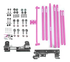 Steinjager Long Arm Travel Kit Wrangler TJ 1997-2006 DOM Tubing Automatic Transmission Pinky