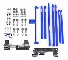 Steinjager Long Arm Travel Kit Wrangler TJ 1997-2006 DOM Tubing Automatic Transmission Southwest Blue