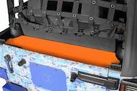 Steinjager Storage Box, Rear Wrangler JK 2007-2018 2 Door Fluorescent Orange