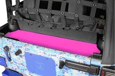 Steinjager Storage Box, Rear Wrangler JK 2007-2018 2 Door Hot Pink