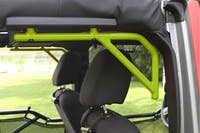 Steinjager Grab Handle Kit Wrangler JK 2007-2018 Rigid Design Rear for 4 Door JKU Gecko Green