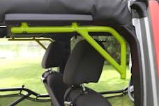 Steinjager Grab Handle Kit Wrangler JK 2007-2018 Rigid Design Rear for 4 Door JKU Gecko Green