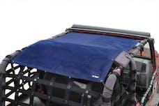 Steinjager Tops, Fabric Teddy Wrangler TJ 1997-2006 Solar Screen Blue Full Length