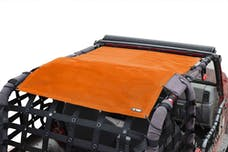 Steinjager Tops, Fabric Teddy Wrangler TJ 1997-2006 Solar Screen Orange Full Length