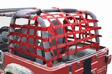 Steinjager Cargo Net Wrangler TJ 1997-2006 Premium Red