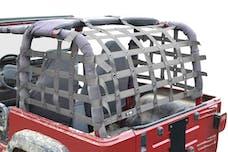 Steinjager Cargo Net Wrangler TJ 1997-2006 Premium Gray