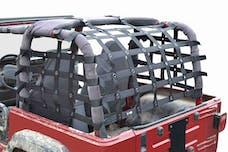 Steinjager Cargo Net Wrangler TJ 1997-2006 Premium Black