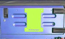 Steinjager Spare Tire Carrier Delete Plate Wrangler TJ 1997-2006 Gecko Green