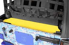 Steinjager Storage Box, Rear Wrangler JK 2007-2018 2 Door Neon Yellow