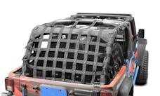 Steinjager Cargo Net Wrangler JK 2007-2018 4 Door Premium Black