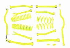 Steinjager Lift Kit Wrangler JK 2007-2018 4 Inch Neon Yellow