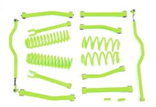Steinjager Lift Kit Wrangler JK 2007-2018 4 Inch Gecko Green