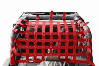 Steinjager Cargo Net Wrangler YJ 1987-1995 Red