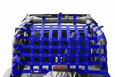 Steinjager Cargo Net Wrangler YJ 1987-1995 Blue
