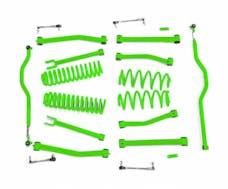 Steinjager Lift Kit, Right Hand Drive Wrangler JK 2007-2018 4 Inch Neon Green