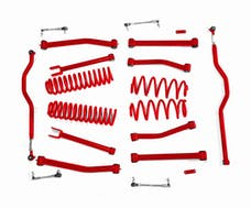 Steinjager Lift Kit, Right Hand Drive Wrangler JK 2007-2018 4 Inch Red Baron