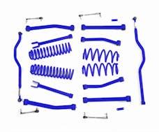 Steinjager Lift Kit, Right Hand Drive Wrangler JK 2007-2018 4 Inch Southwest Blue