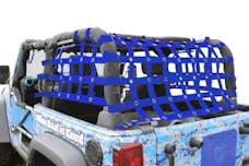 Steinjager Cargo Net Wrangler JK 2007-2018 2 Door Premium Blue