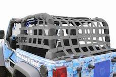 Steinjager Cargo Net Wrangler JK 2007-2018 2 Door Premium Gray