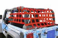Steinjager Cargo Net Wrangler JK 2007-2018 2 Door Premium Red