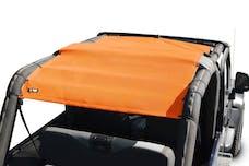 Steinjager Tops, Fabric Teddy Wrangler TJ 2004-2006 Wrangler LJ Orange Full Length