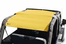 Steinjager Tops, Fabric Teddy Wrangler TJ 2004-2006 Wrangler LJ Yellow Full Length