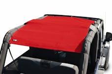 Steinjager Tops, Fabric Teddy Wrangler TJ 2004-2006 Wrangler LJ Red Full Length