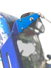 Steinjager LED Lights and Brackets Wrangler JK 2007-2018 Limb Lifter A-Pillar Add On Brackets and Cables Only Playboy Blue