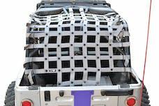 Steinjager Cargo Net Wrangler TJ 2004-2006 Wrangler LJ Gray