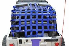 Steinjager Cargo Net Wrangler TJ 2004-2006 Wrangler LJ Blue