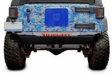 Steinjager Bumpers Wrangler JK 2007-2018 Bumper, Rear Cap Style Bare