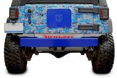 Steinjager Bumpers Wrangler JK 2007-2018 Bumper, Rear Cap Style Southwest Blue