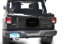 Steinjager Spare Tire Carrier Delete Plate Wrangler JL 2018 to Present Bare