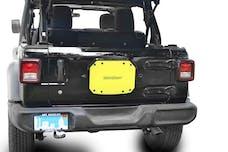 Steinjager Spare Tire Carrier Delete Plate Wrangler JL 2018 to Present Lemon Peel
