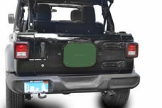Steinjager Spare Tire Carrier Delete Plate Wrangler JL 2018 to Present Locas Green