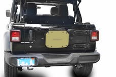 Steinjager Spare Tire Carrier Delete Plate Wrangler JL 2018 to Present Military Beige