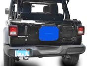 Steinjager Spare Tire Carrier Delete Plate Wrangler JL 2018 to Present Playboy Blue