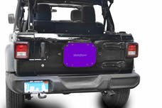 Steinjager Spare Tire Carrier Delete Plate Wrangler JL 2018 to Present Sinbad Purple