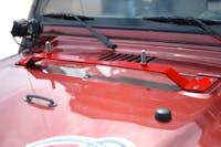 Steinjager High Lift Mount Kit Wrangler TJ 1997-2006 Hood Mount Red Baron