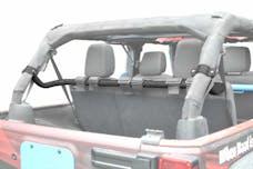 Steinjager Harness Bar Kit Wrangler JK 2007-2018 4 Door Rear Texturized Black
